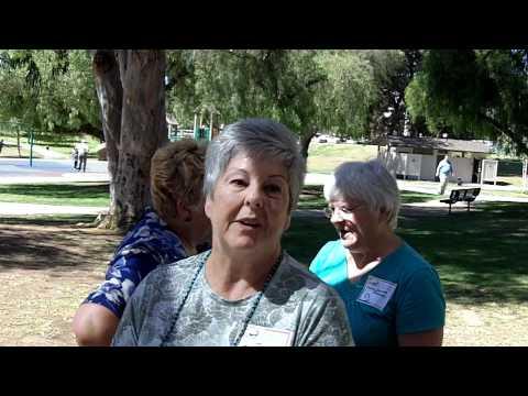Rosalie Baur attended the 50 year Yorba Linda Elementary School class reunion September 19, 2010