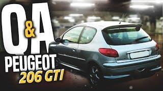 Q&A o moim PEUGEOT 206 GTI!
