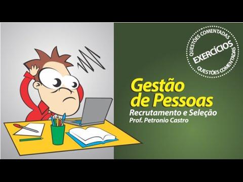Recrutamento e Seleção - Questões Comentadas - YouTube b0500234bb84c