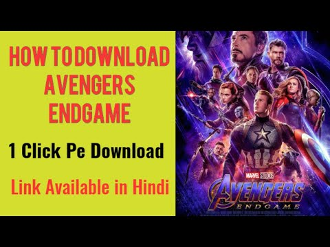 Download How To Download Avenger Endgame Movie  in Hindi | Hollywood Movies in Hindi