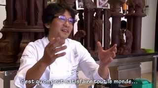 Sadaharu Aoki nous parle de sa découverte du logiciel Pro-Choc et de l'intérêt de son utilisation dans la création de ses recettes.