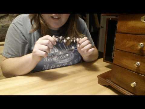 ASMR Jewelry Rummage Part 1 / Necklaces