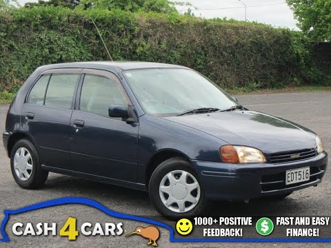 1996 Toyota Starlet 1.3 Economical Auto Hatchback   ** SOLD **