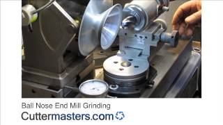 Ball Nose End Mill Grinding