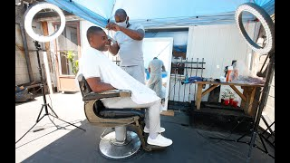 PANDEMIC CUTS DEEP: Danforth barber hopes for July 2 re-opening