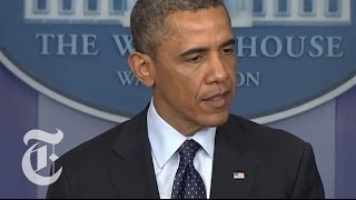 Boston Marathon Explosions: Obama Press Conference on Bomb Attacks | The New York Times