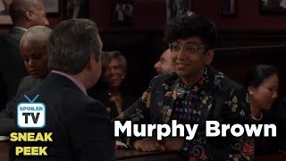 Murphy Brown 11x07 Sneak Peek 2 A Lifetime of Achievement
