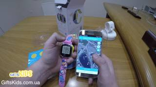 Tencent QQ Pokemon Watch (Обзор и инструкция по настройке) Детские умные часы телефон