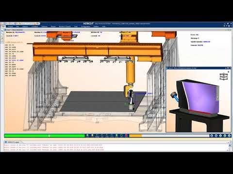 VERICUT simulation of Thermwood Large Scale Additive Manufacturing machine
