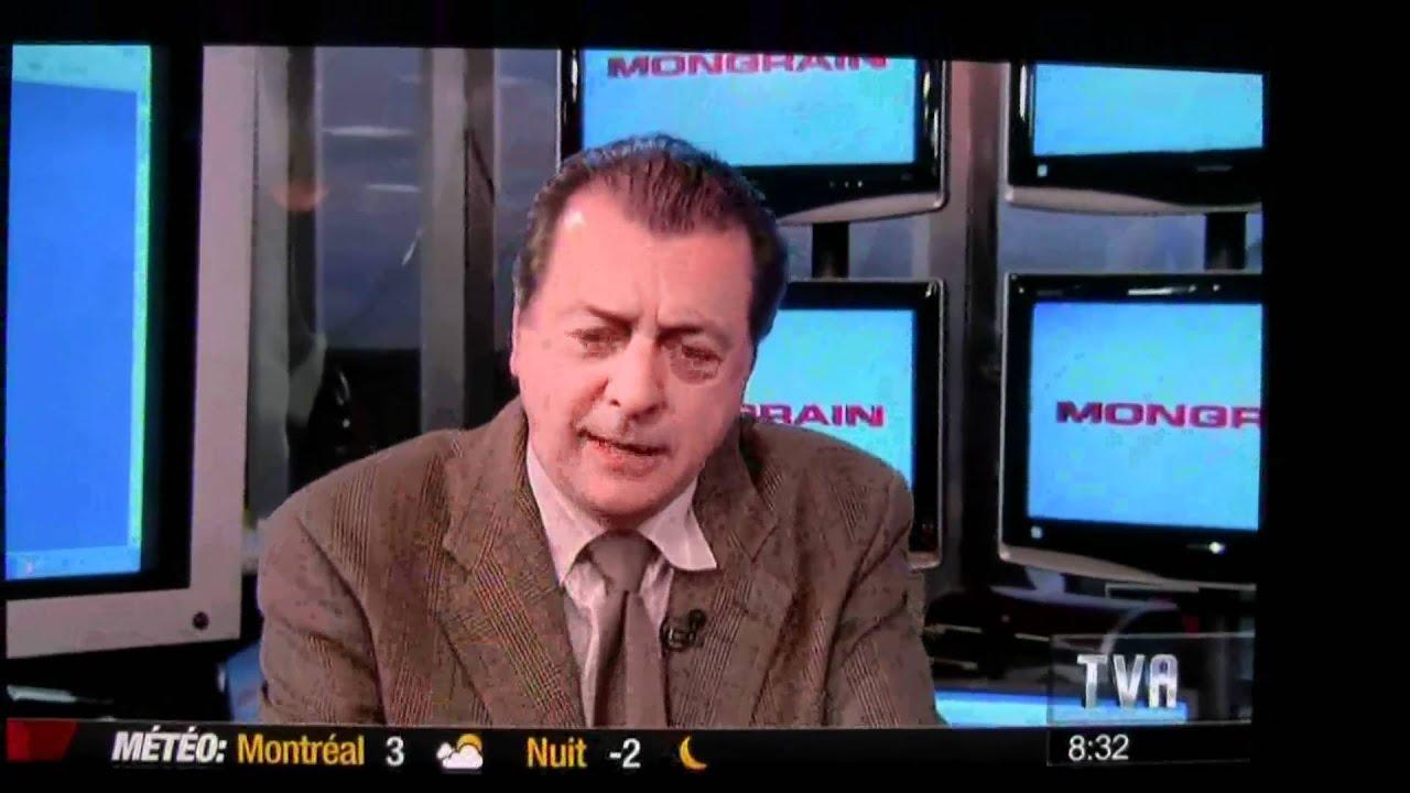 Jean-luc Mongrain Salut Bonjour