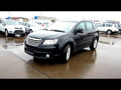 2012 Subaru Tribeca. Start Up, Engine, and In Depth Tour.