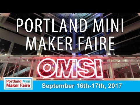 Giving Away the Creality CR-10 at Portland Mini Maker Faire with Barnacules!