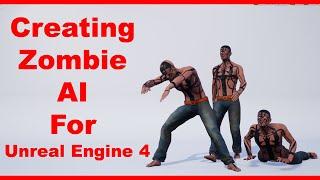 La création de Zombie IA Pour l'Unreal Engine 4