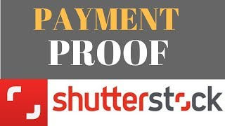 Shutterstock Payment Proof |First Payment  From Selling Photos Online ||