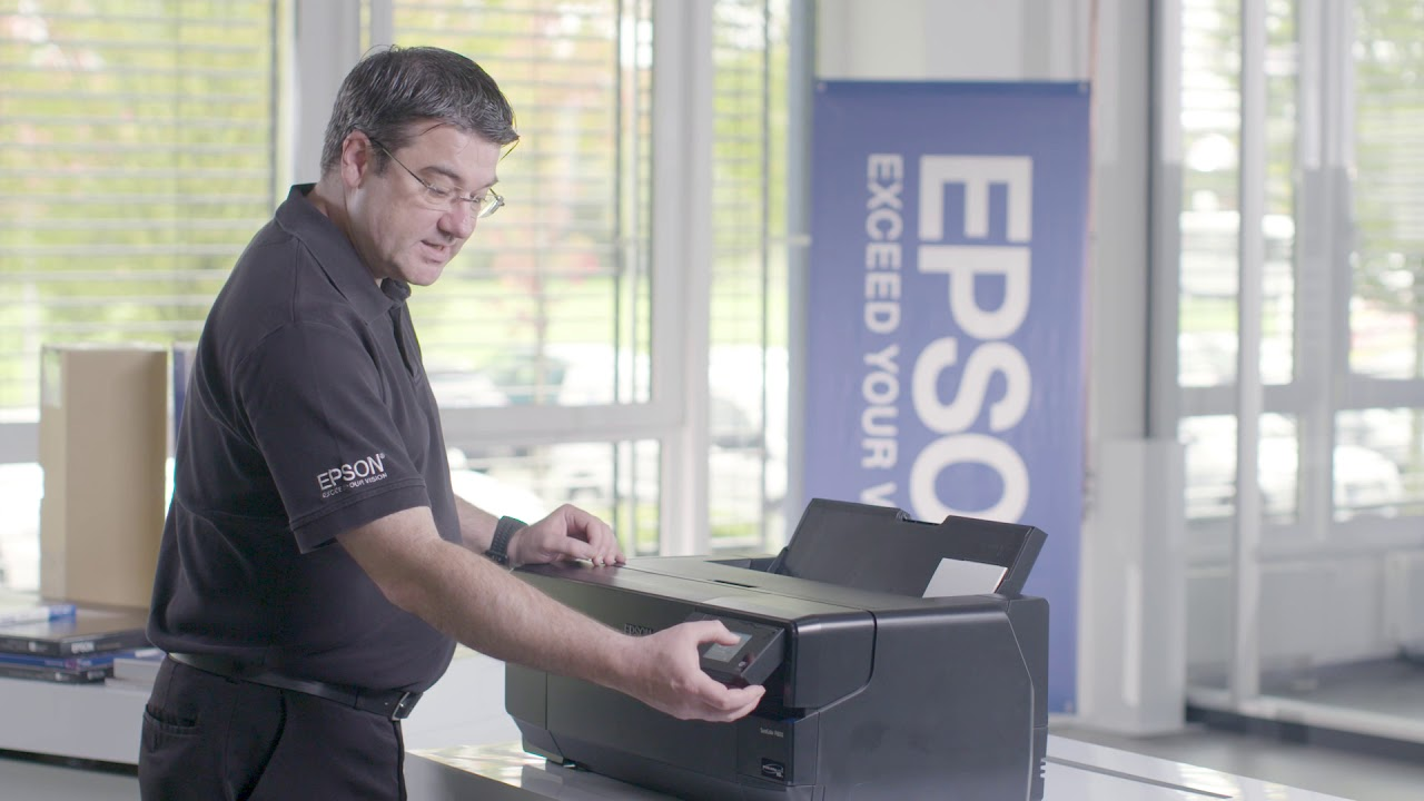 How to' Training Video for the Epson SureColor SC-P800