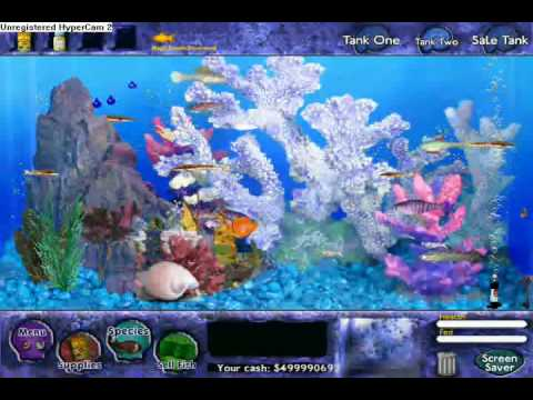 Fish tycoon my fish and my 499 million coins youtube for Fish tycoon 2