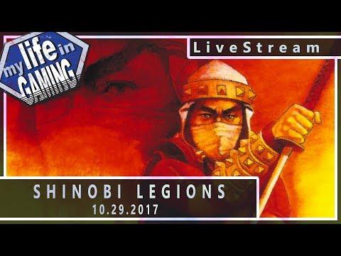 Shinobi Legions on the Saturn :: 10.29.2017 LiveStream / MY LIFE IN GAMING - Shinobi Legions on the Saturn :: 10.29.2017 LiveStream / MY LIFE IN GAMING