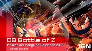 Dragon Ball Battle Of Z - Entrevista En El Salón Del Manga De Barcelona 2013