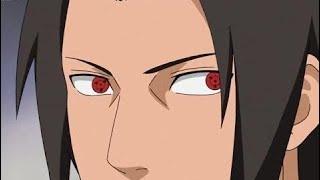 Uchiha Fugaku Gets Angry and Uses Sharingan on Sasuke - Uchiha Members Attack Kushina