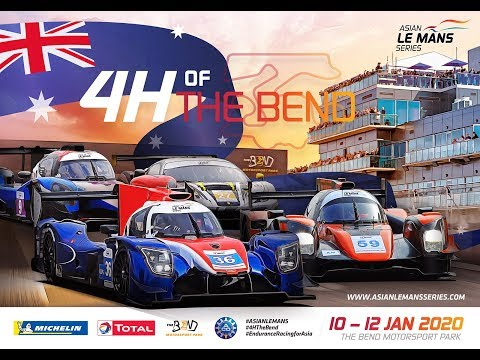 4H Of The Bend - LIVE - Round 2 -2019/20 Asian Le Mans Series