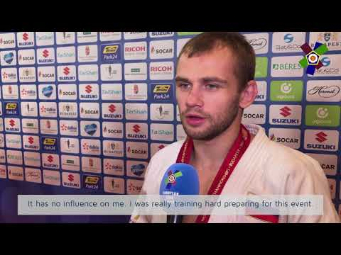 JudoWorlds2017: Interview with Mikhail Puliaev (RUS)