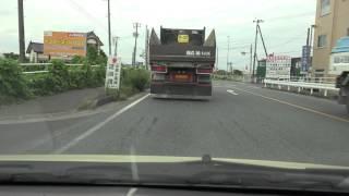 4K 国道6号 等速 福島県南相馬市 道の駅まで
