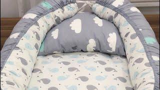 Babynest Sleep Home / Bebek Uyku Yuvası | Dikim Videosu