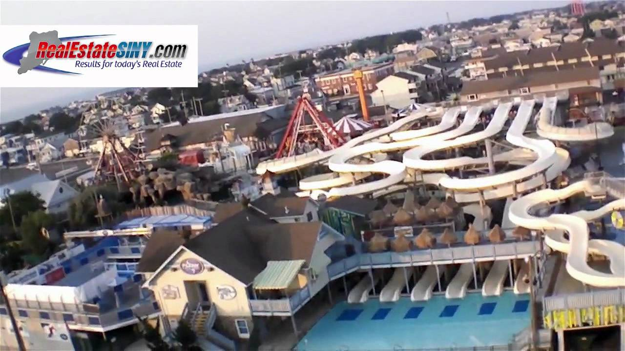 From Above The Water Park In Beach Haven Long Island Nj You