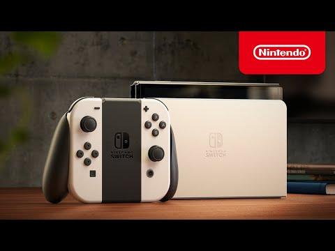 Nintendo Switch (modèle OLED) – Bande-annonce de présentation