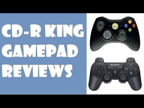 CDR - King Gamepad Reviews : DS3 vs Xbox 360 controller