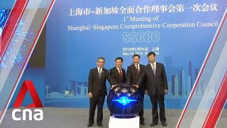 Singapore and China entities ink five agreements