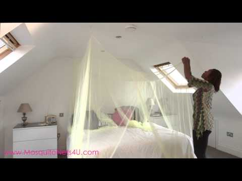 How to Install a 4 Poster bed Canopy