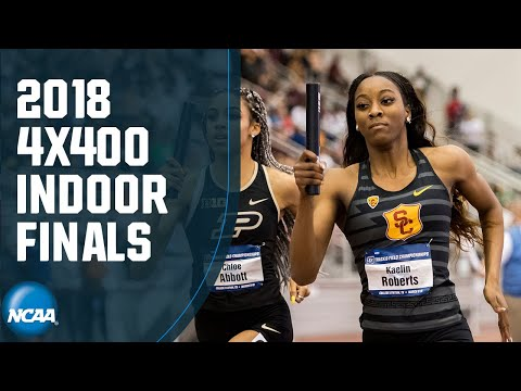 Women's 4x400 - 2018 NCAA Indoor Track And Field Championships