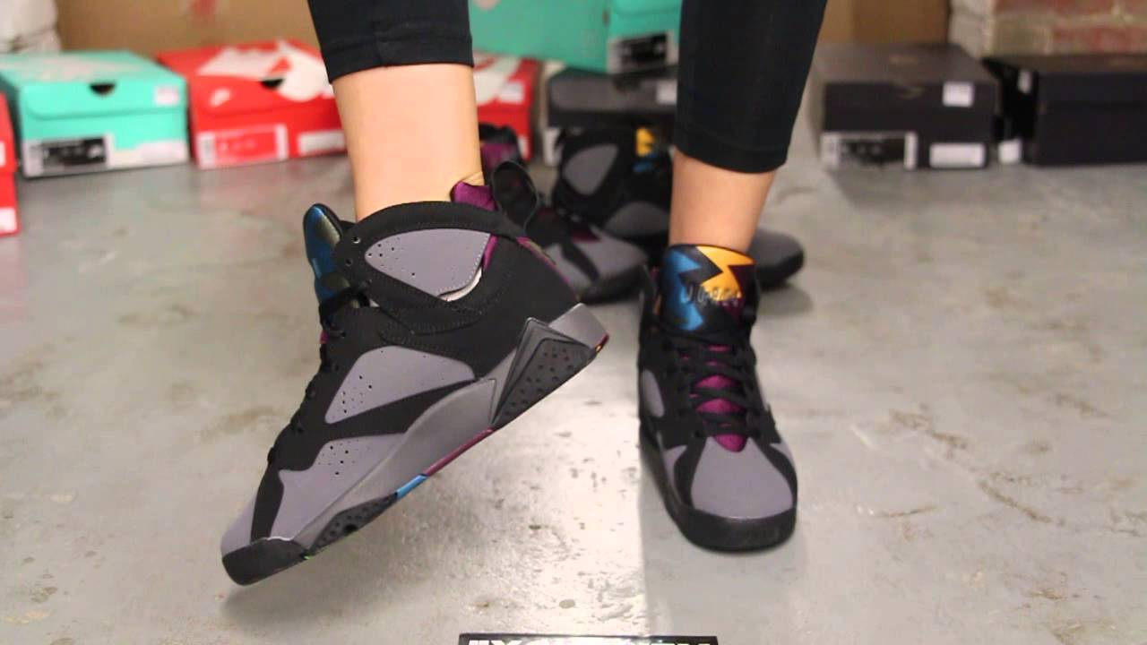 "nike gros fournisseurs - Air Jordan 7 Retro BG ""Bordeaux"" On-Feet Video at Exclucity - YouTube"