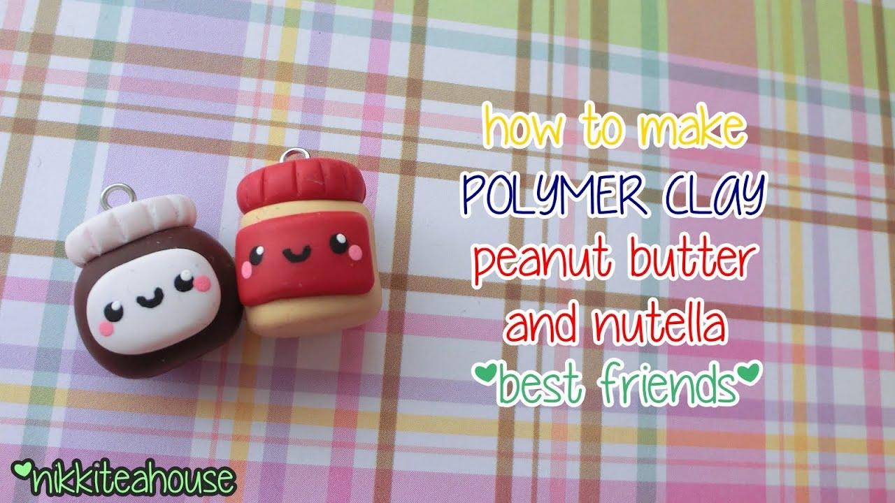Kawaii Peanut Butter & Nutella Best Friends ♥