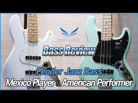 [Bass Review] Fender Jazz Bass Mexico Player &  American Performer Series