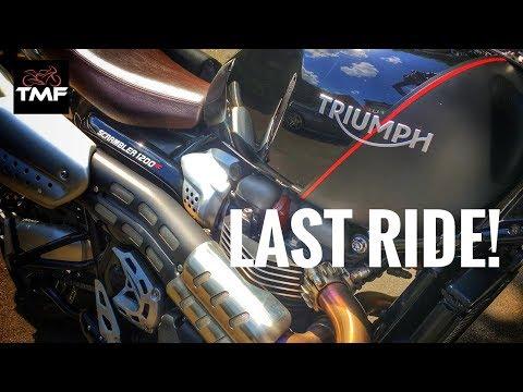 2019 Triumph Scrambler 1200 XC - Final Ride Review