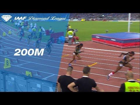 Marie-Josée Ta Lou Wins Women's 200m - IAAF Diamond League Rome 2018