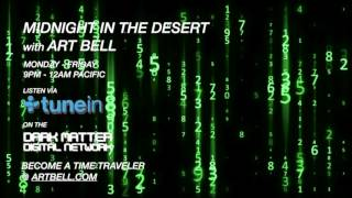 Art Bell plays code recorded from a Numbers Station on Midnight In The Desert