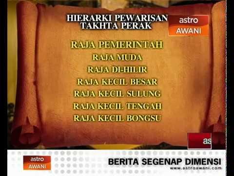 Hierarki pewarisan takhta Perak