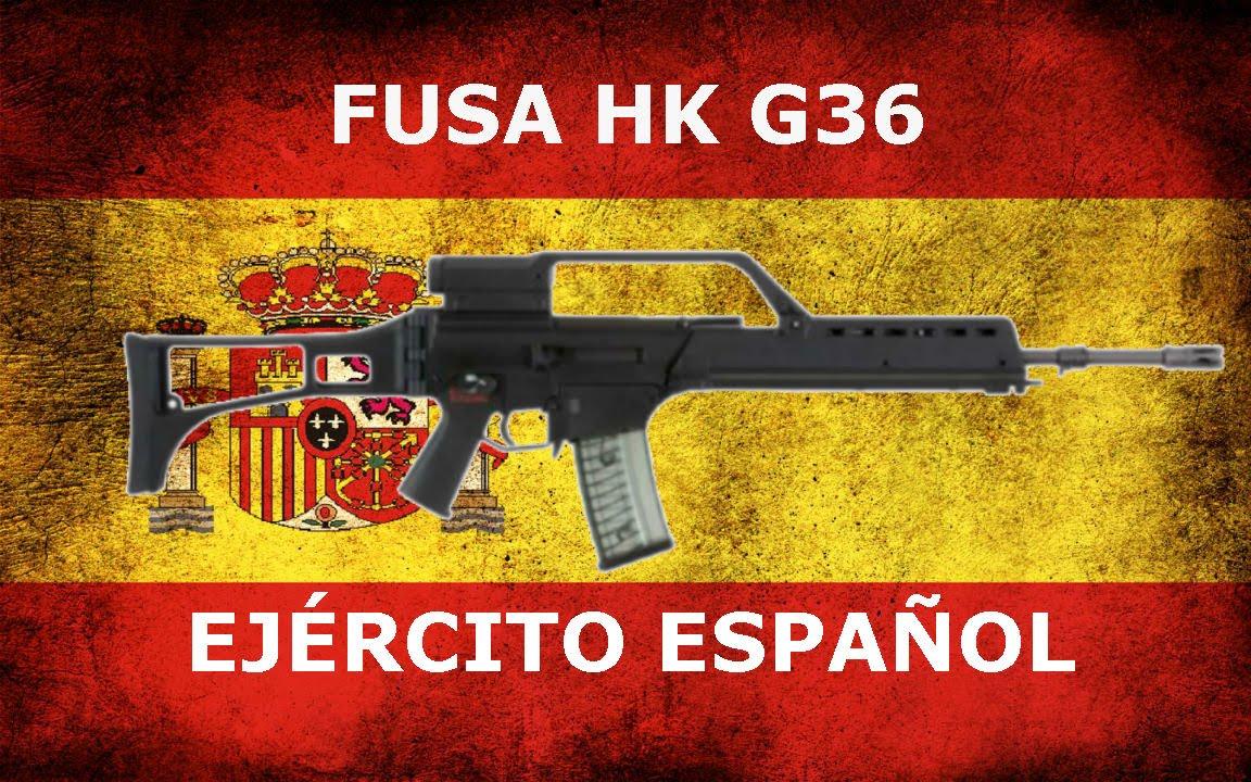 Fusa Hk G36 Ejército Español Montaje Youtube