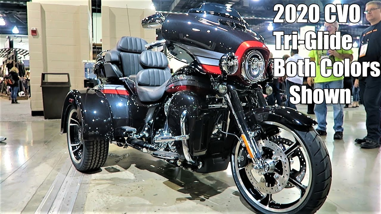 """2020 Harley-Davidson CVO Tri-Glide """"First Look""""│All Colors ..."""