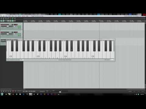 Loading Virtual Instruments in Reaper (SFZ Player)