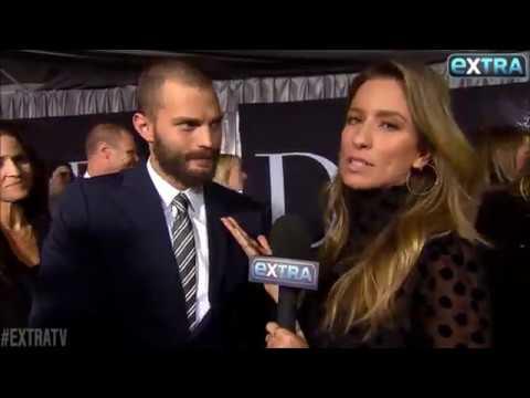 Jamie Dornan - Fifty Shades Darker LA Premiere (ExtraTV)