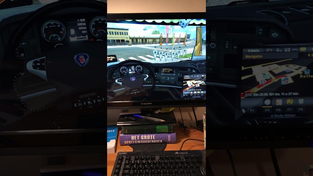 Real Scania Truck Home Simulator | Hackaday io