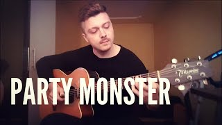 The Weeknd - Party Monster - Instrumental Acoustic Guitar Cover by Nicolaevici Bogdan