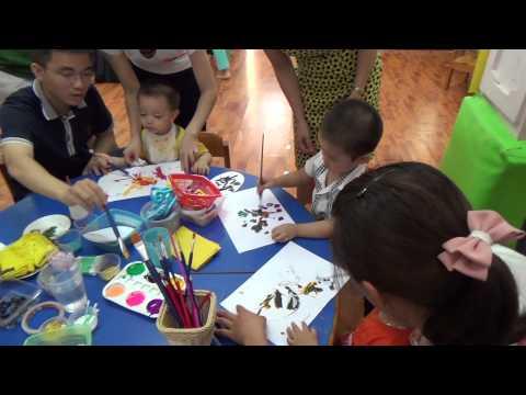 Dạy Bé Học Vẽ (Lớp học Mẹ và Bé)