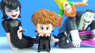 Hotel Transylvania 3 çizgi film oyuncakları Pepee Niloya Maşa ile Arbys çocuk menüsü Johny Johny