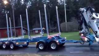 Scania R730 Timmerbil, Drive V8 or die...