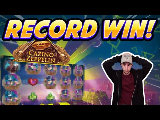 WILD LINE?!?! Cazino Zeppelin BIG WIN - Huge win from Casinodaddy